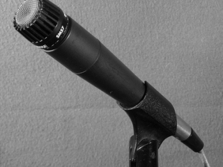Shure SM57 Dynamic Microphone with Cardioid Pickup Pattern